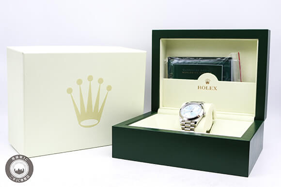 高雄買二手勞力士-限量Rolex day date 40-青蘋果3c